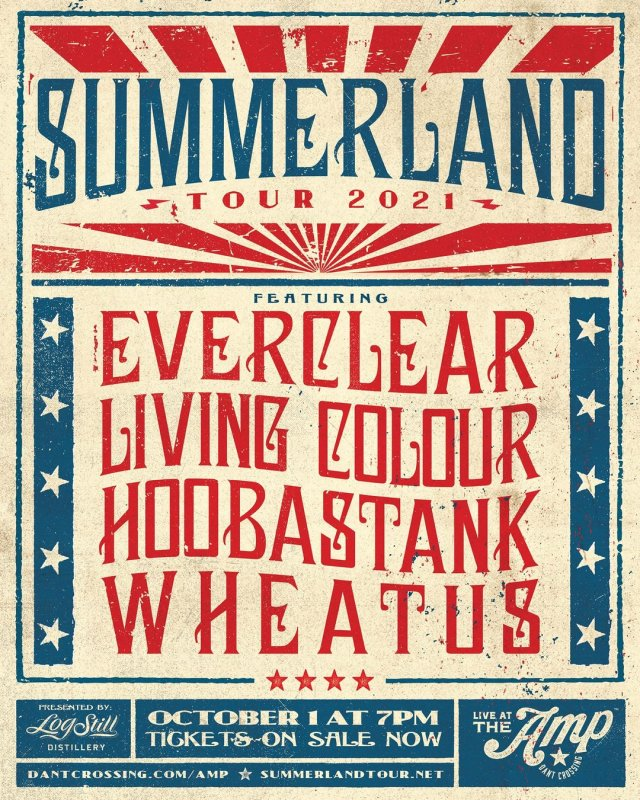 Summerland Tour Live at The Amp