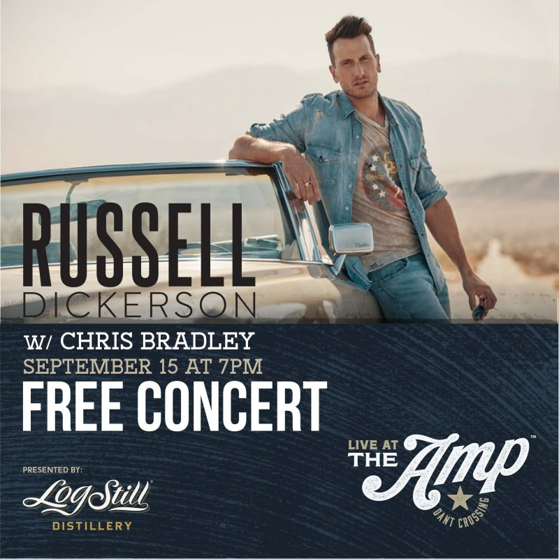 Russell Dickerson Live at The Amp