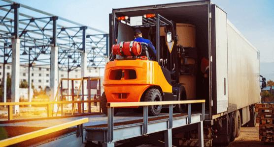 River Ridge Commerce Center trucking activities